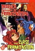 DRACULA PRISONER OF FRANKENSTEIN/CURSE OF FRANKENSTEIN